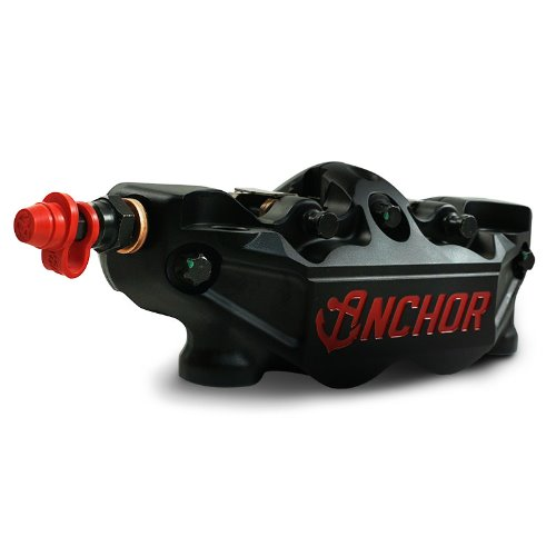 ANCHOR RADIAL 4 PISTON FORGED CALIPER 프론트 좌/우 TMAX 15~20 [블랙] ANC36